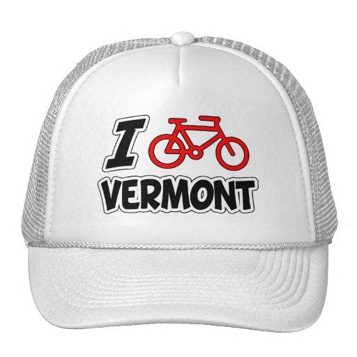 Amo el completar un ciclo de Vermont Gorros Bordados