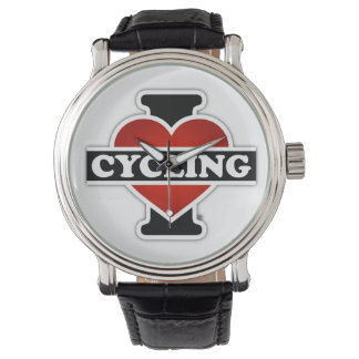 Amo el completar un ciclo relojes de mano