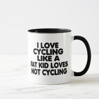 Amo el completar un ciclo taza