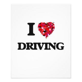 """Amo el conducir folleto 4.5"""" x 5.6"""""""