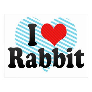 Amo el conejo postal
