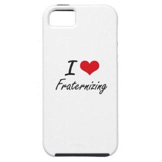 Amo el confraternizar iPhone 5 fundas