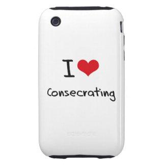 Amo el Consecrating iPhone 3 Tough Fundas