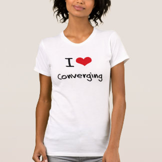 Amo el converger camiseta