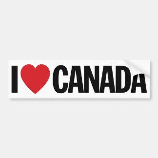 """Amo el corazón Canadá etiqueta del vinilo de 11"""" Pegatina Para Auto"""