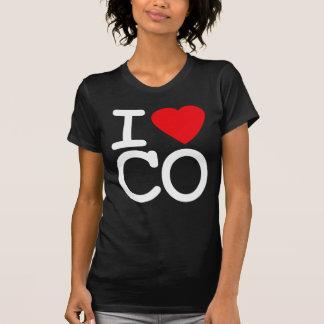 Amo el corazón Colorado Playera
