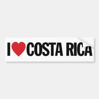 Amo el corazón Costa Rica etiqueta del vinilo de Pegatina Para Auto