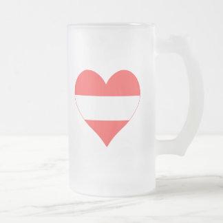 Amo el corazón de Austria Tazas