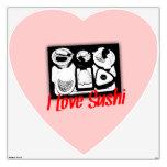 Amo el corazón del sushi