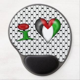 Amo el corazón Palestina de Palestina I Alfombrillas Con Gel