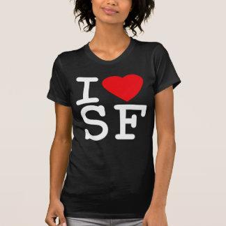 Amo el corazón San Francisco Camisas