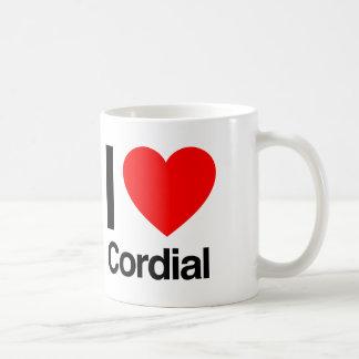 amo el cordial tazas de café