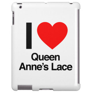 amo el cordón de la reina anne funda para iPad