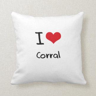 Amo el corral almohada