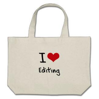 Amo el corregir bolsas