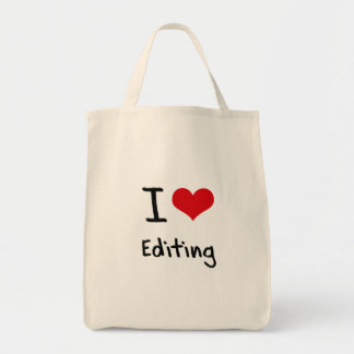 Amo el corregir bolsa de mano