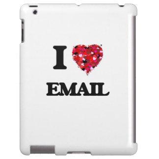 Amo el CORREO ELECTRÓNICO Funda Para iPad