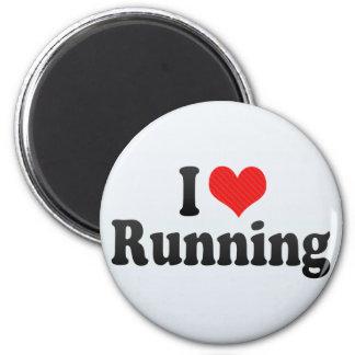 Amo el correr iman de frigorífico