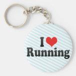 Amo el correr llavero