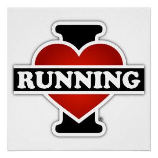 Amo el correr perfect poster