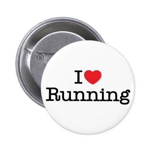 Amo el correr pin