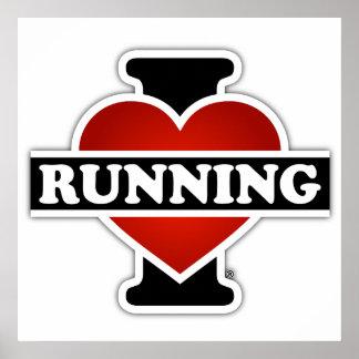 Amo el correr póster