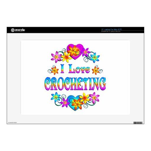 Amo el Crocheting Portátil 38,1cm Skin