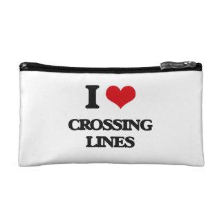Amo el cruzar de líneas