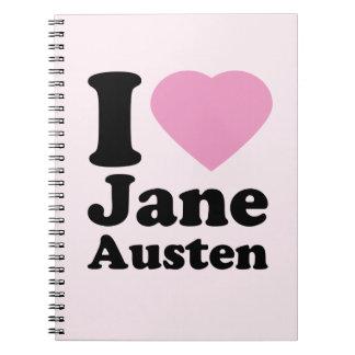 Amo el cuaderno de Jane Austen