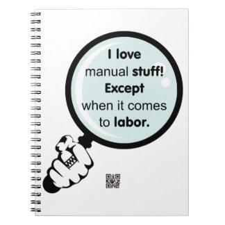 Amo el cuaderno manual de la materia
