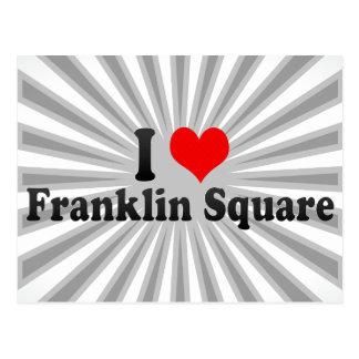 Amo el cuadrado de Franklin, Estados Unidos Postal