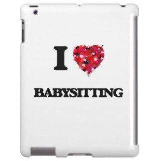 Amo el cuid losar nin¢os funda para iPad