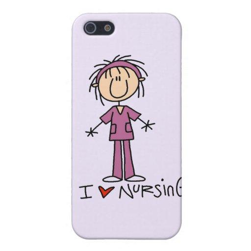 Amo el cuidado y los regalos iPhone 5 fundas