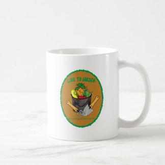 AMO EL CULTIVAR UN HUERTO - AMOR A SER YO TAZA DE CAFÉ