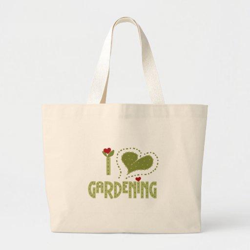 Amo el cultivar un huerto bolsa