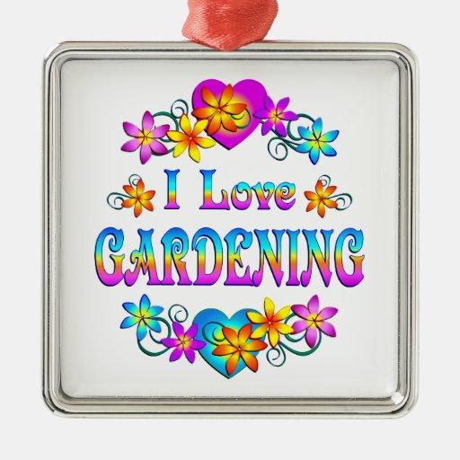 Amo el cultivar un huerto ornamentos de reyes magos