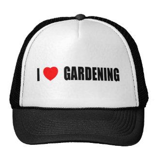 Amo el cultivar un huerto gorra
