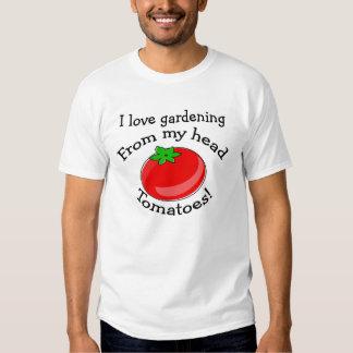 ¡Amo el cultivar un huerto! Playera