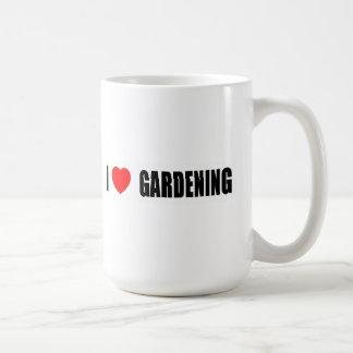 Amo el cultivar un huerto taza