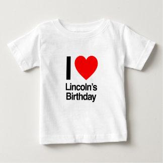 amo el cumpleaños de Lincoln Tshirt
