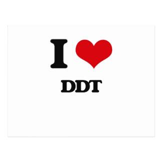 Amo el DDT Tarjetas Postales