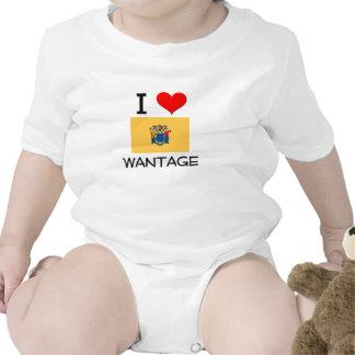 Amo el déficit New Jersey Camiseta