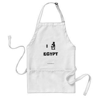 Amo el delantal de Egipto