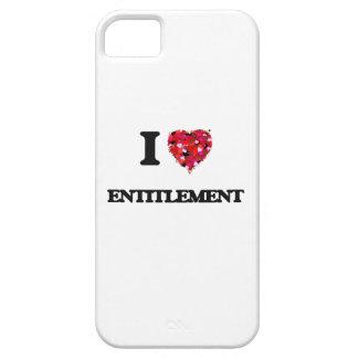 Amo el DERECHO iPhone 5 Carcasas
