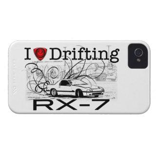 Amo el derivar de RX-7 Case-Mate iPhone 4 Cárcasas
