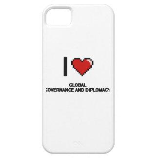 Amo el DES global de Digitaces del gobierno y de iPhone 5 Case-Mate Carcasa