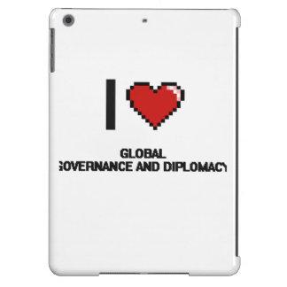 Amo el DES global de Digitaces del gobierno y de Funda Para iPad Air