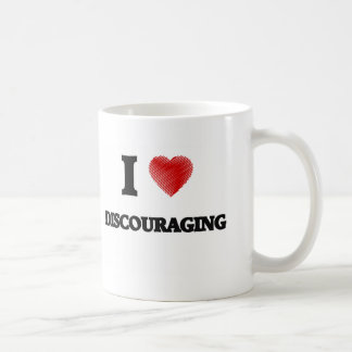 Amo el desalentar taza