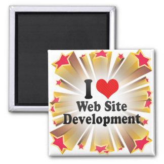 Amo el desarrollo del Web site Imanes De Nevera