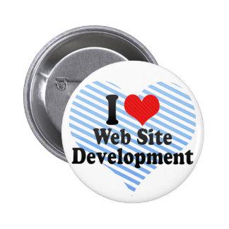 Amo el desarrollo del Web site Pins